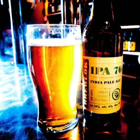 Обзор пива. Brewlok IPA 70.