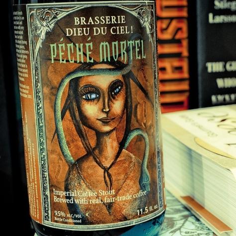 Имперское пиво. Dieu Du Ciel Péché Mortel. Обзор пива.