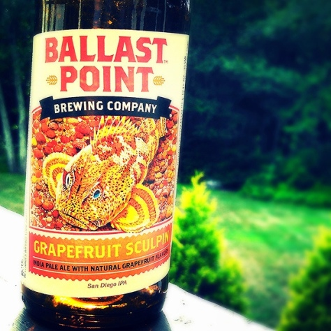 Обзор пива. Ballast Point Grapefruit Sculpin.