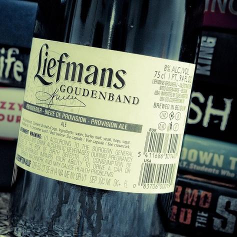 Обзор пива. Liefmans Goudenband.