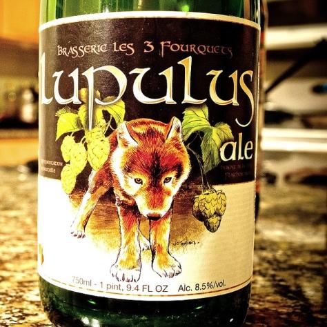 Обзор пива. Les Trois Fourquets Lupulus.
