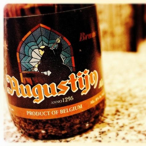 Обзор пива. Steenberge Augustijn Brune.