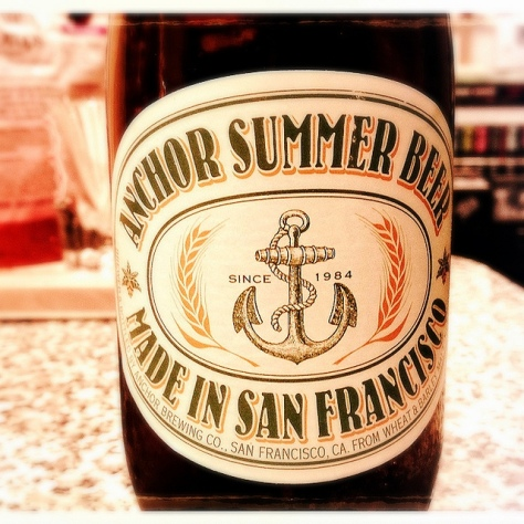 Обзор пива. Anchor Summer Beer.