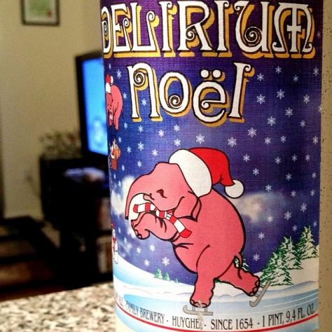 Обзор пива. Huyghe Delirium Noël.