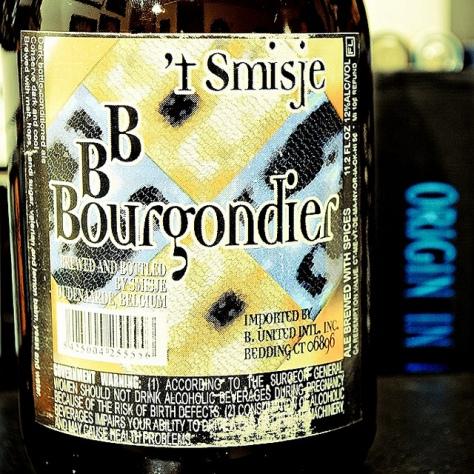 Обзор пива. 't Smisje BBBourgondier.