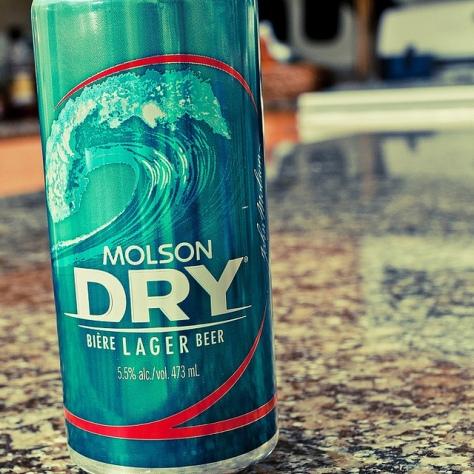 Обзор пива. Molson Coors Dry.