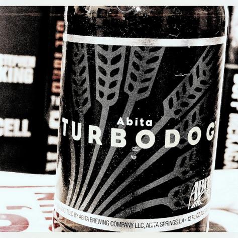 Коричневый эль. Abita Turbodog. Обзор пива.
