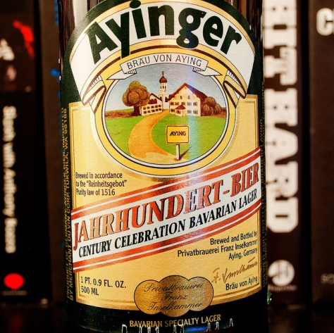 Обзор пива. Ayinger Jahrhundert.