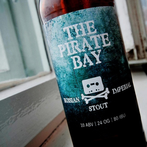 Обзор пива. SPBrew The Pirate Bay.