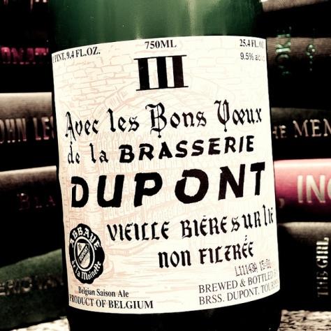 Обзор пива. Dupont Avec Les Bons Voeux.