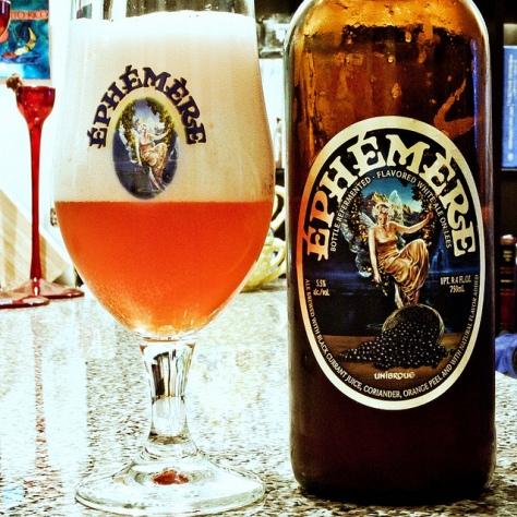 Обзор пива. Unibroue Ephemere Black Currant.