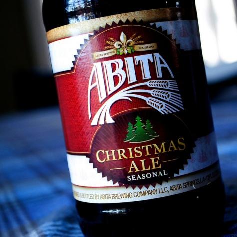 Обзор пива. Abita Christmas Ale 2014.