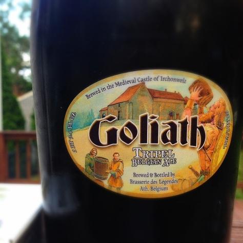 Обзор пива. Des Geants Goliath.