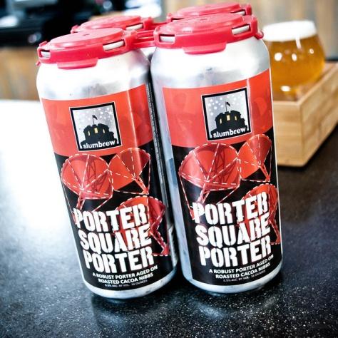 Обзор пива. Slumbrew Porter Square Porter.