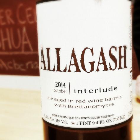 Обзор пива. Allagash Interlude.