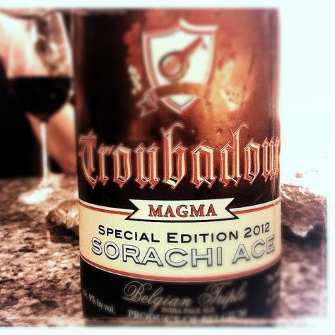 Обзор пива. De Musketiers Troubadour Magma.