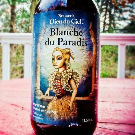 Крафтовая пивоварня. Dieu Du Ciel Blanche Du Paradis. Обзор пива.