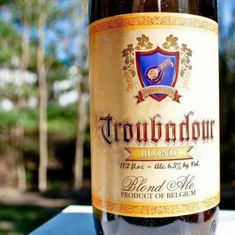 Обзор пива. De Musketiers Troubadour Blond Ale.