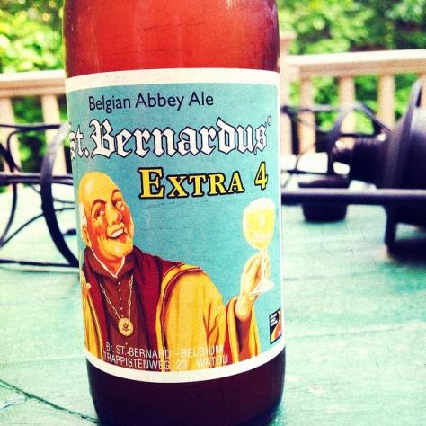Обзор пива. St. Bernardus Extra 4.
