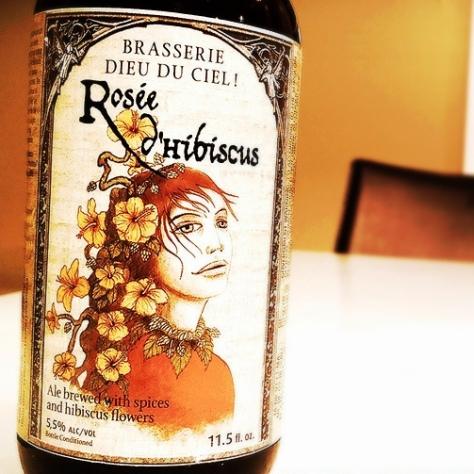 Об интересном сорте. Травяное пиво. Dieu Du Ciel Rosée D'hibiscus. Обзор пива.
