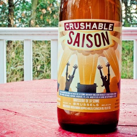Обзор пива. De La Senne Crushable Saison.