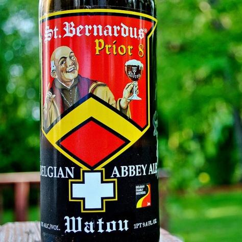 Правильная температура сервирования пива. Бельгийский дуббель. St. Bernardus Prior 8.