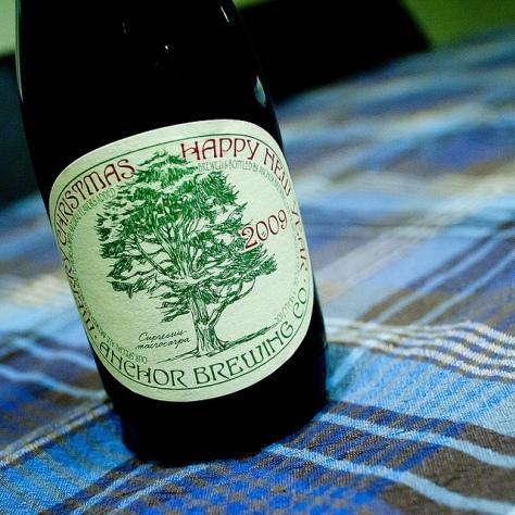 Зимнее пиво. Anchor Christmas Ale 2009. Обзор пива.