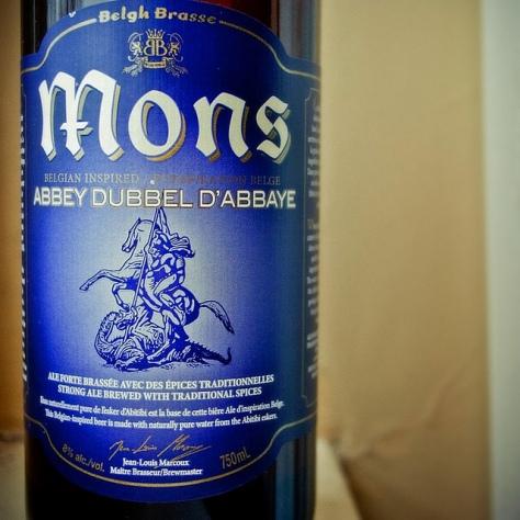 Обзор пива. Belgh Brasse Mons Abbey Dubbel.