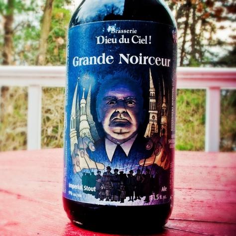 Обзор пива. Dieu Du Ciel Grande Noirceur.