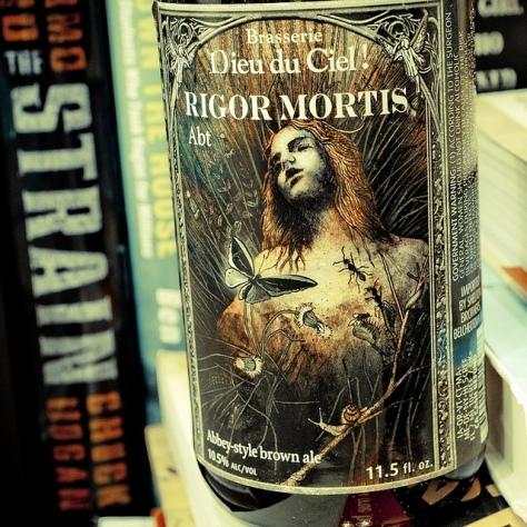 Обзор пива. Dieu Du Ciel Rigor Mortis.