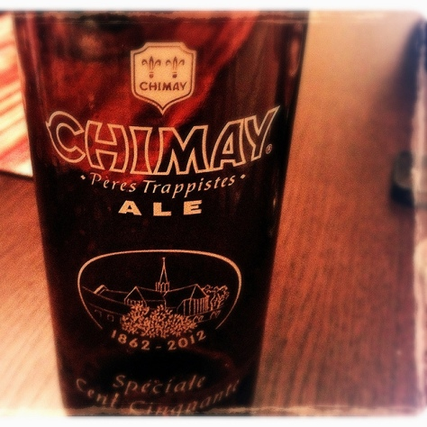 Обзор пива. Chimay Spéciale Cent Cinquante.