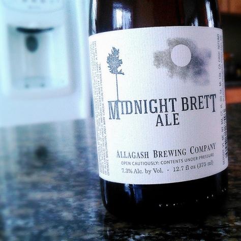 Дикий эль. Allagash Midnight Brett. Обзор пива.