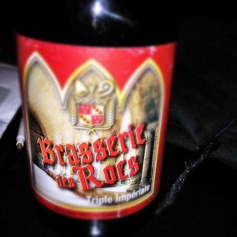 Обзор пива. Des Rocs Triple Impériale.
