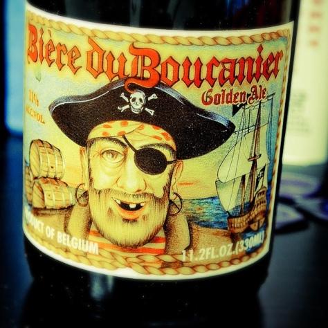 Обзор пива. Steenberge Bière Du Boucanier Golden.