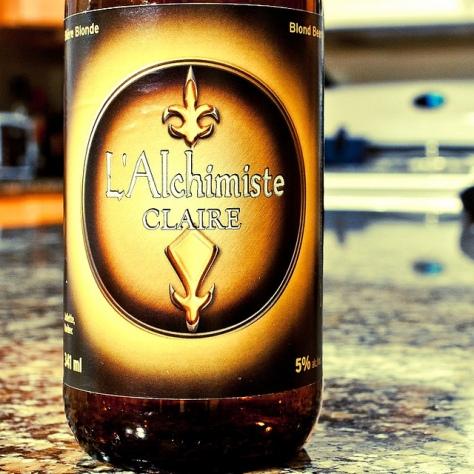 Обзор пива. L'Alchimiste Claire.