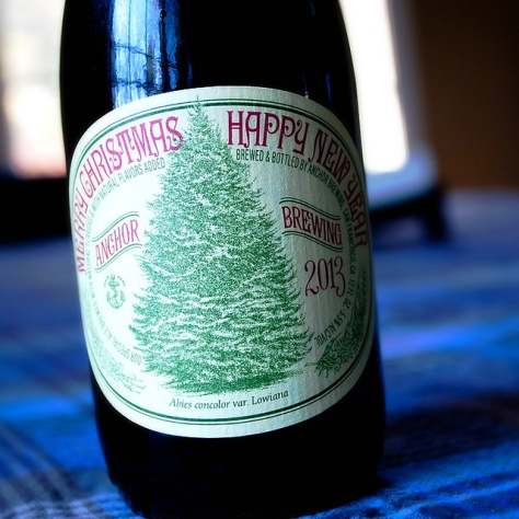 Обзор пива. Anchor Christmas Ale 2013.