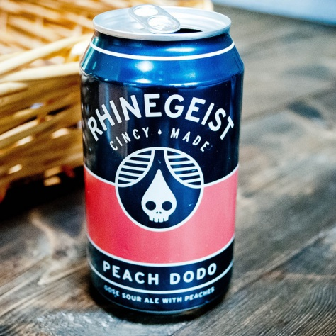 Rhinegeist Peach Dodo. [Обзор пива].