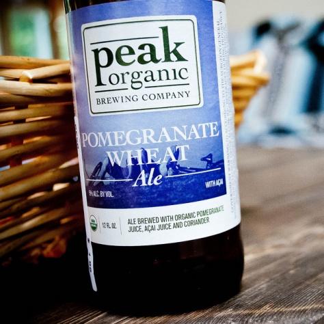 Обзор пива. Peak Organic Pomegranate Wheat Ale.