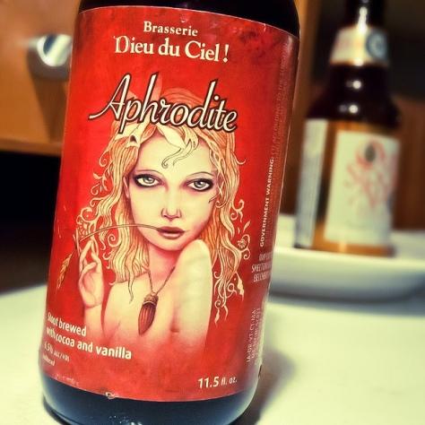 Обзор пива. Dieu Du Ciel Aphrodite.