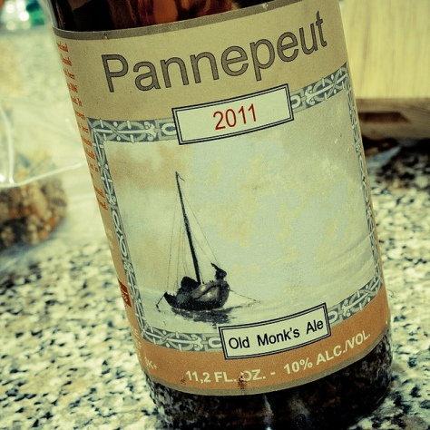 Обзор пива. De Struise Pannepot Old Monk's Ale 2011.
