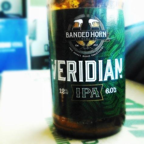 Обзор пива. Banded Horn Veridian.