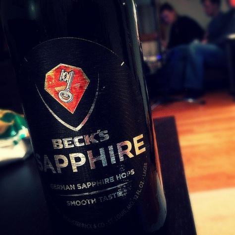Обзор пива. Beck's Sapphire.