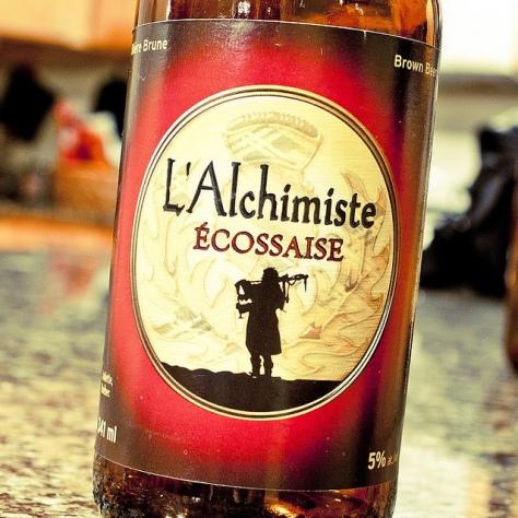 Обзор пива. L'Alchimiste L'Ecossaise.