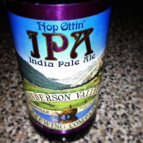 Хмель коламбус. Anderson Valley Hop Ottin'. Обзор пива.