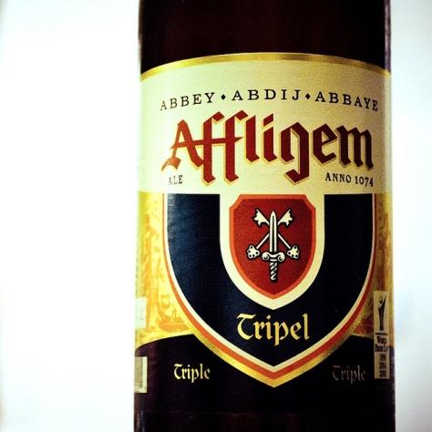 Правильная температура сервирования пива. Бельгийский трипель. Affligem Tripel.