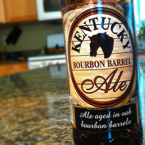 Обзор пива. Alltech's Lexington Kentucky Bourbon Barrel Ale.