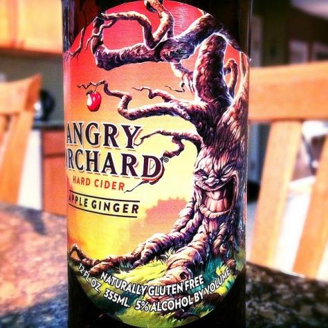 Обзор крепкого сидра. Angry Orchard Apple Ginger.