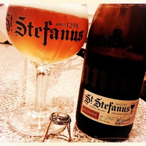Блонд эль. Blonde Ale. Steenberge St. Stefanus Blonde. Обзор пива.