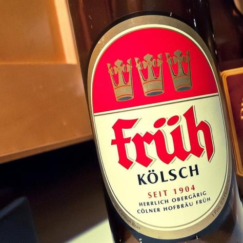 Обзор пива. Früh am Dom Fruh.
