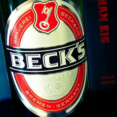 Плохое пиво. Скунсовость в пиве. Beck's.